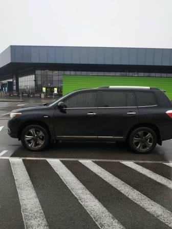 Автомобіль Toyota Highlander, легковий універсал, чорний, держ.номер ВН9736ЕЕ, 2012 р.в., номер кузова JTEES42A402199907, об'єм двигуна 3456, інв.номер  4075